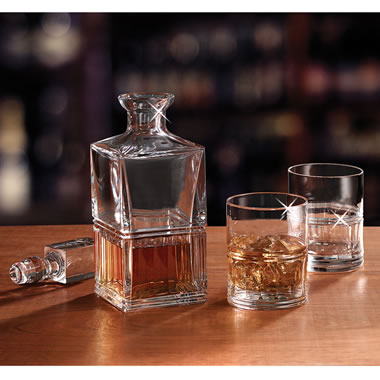 The Bohemian Crystal Decanter Set