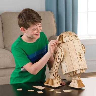 Giant R2d2 Wooden Model