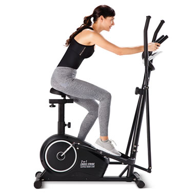 The Seated Elliptical Trainer