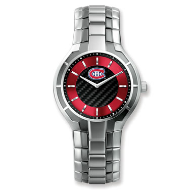 The Montreal Canadiens Black Ice Watch