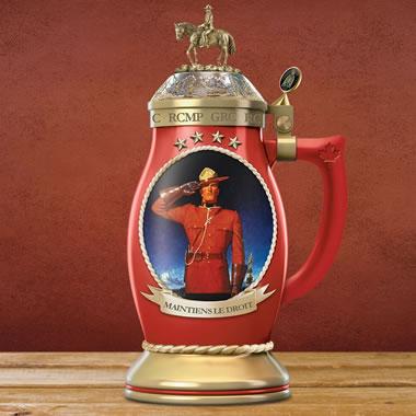 The RCMP Porcelain Stein