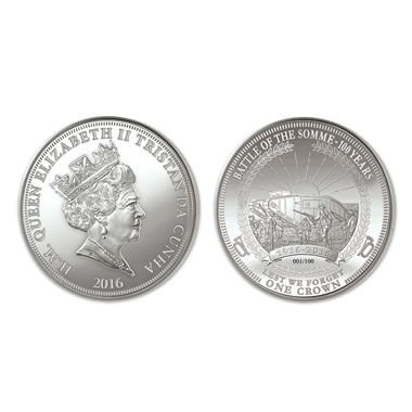 The Battle of The Somme Centennial Coin
