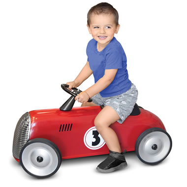 The Hammacher Schlemmer FAO Schwarz Child's Classic Ride On Roadster