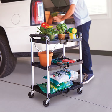 The Foldaway Rolling Cart