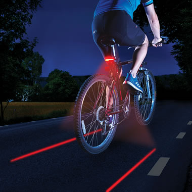 The Turn Signal Safety Bicycle Light