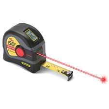 The Laser And Tape Measurer