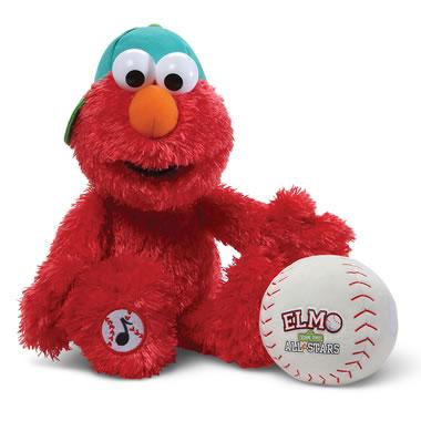 The Take Me Out To The Ballgame Elmo