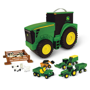 Portable John Deere Farm Set