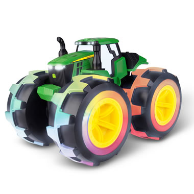 The Wheel Lit John Deere Monster Tractor