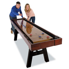 The 9' Wooden Shuffleboard Table
