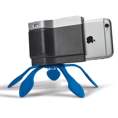 Flexible Tripod For The iPhone Camera Enhancer