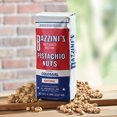 Bazzini?s Colossal Pistachio Nuts.