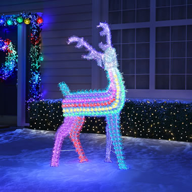 4' Deer Light Sculpture