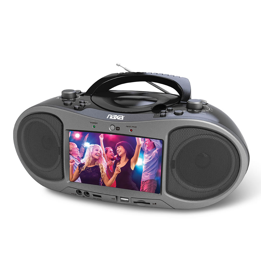 Bluetooth/DVD Boombox