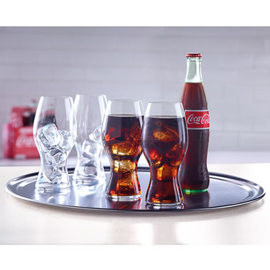 The Riedel Crystal Coca-Cola Glasses