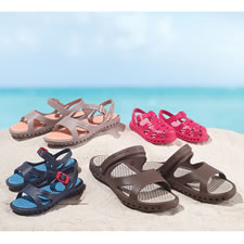 The Sandless Sandals
