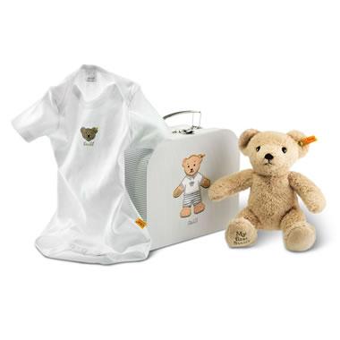 My First Steiff Teddy Bear Gift Set