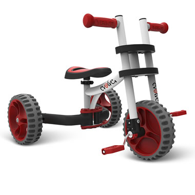 The Grow With Me Converting Tricycle