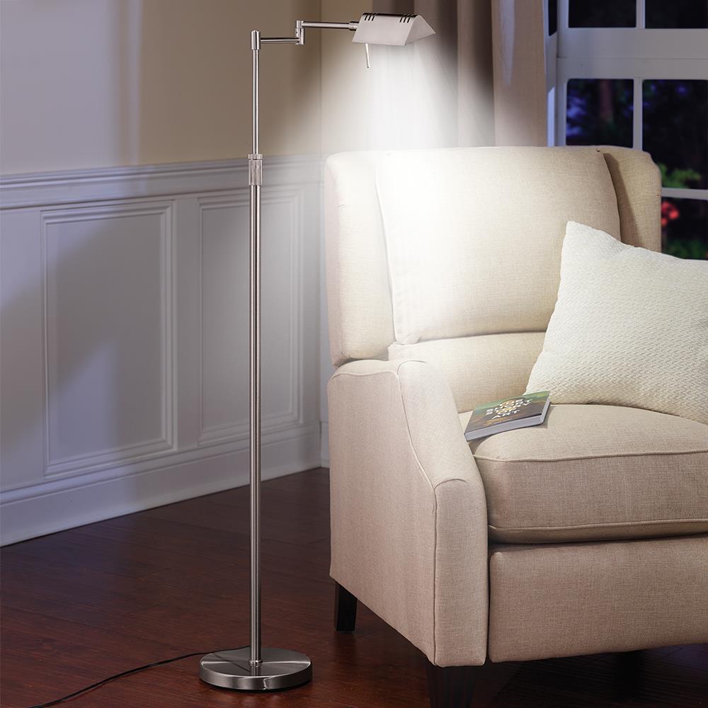 1 200 Lumen Reading Lamp Led Desk Lamp Hammacher Schlemmer
