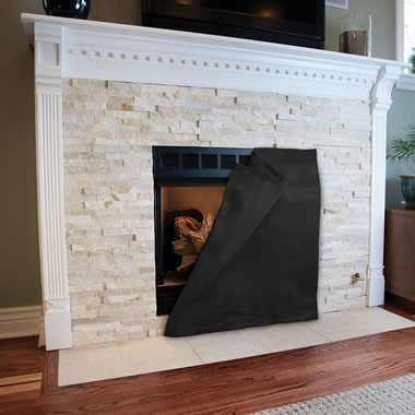 The Fireplace Draft Eliminator