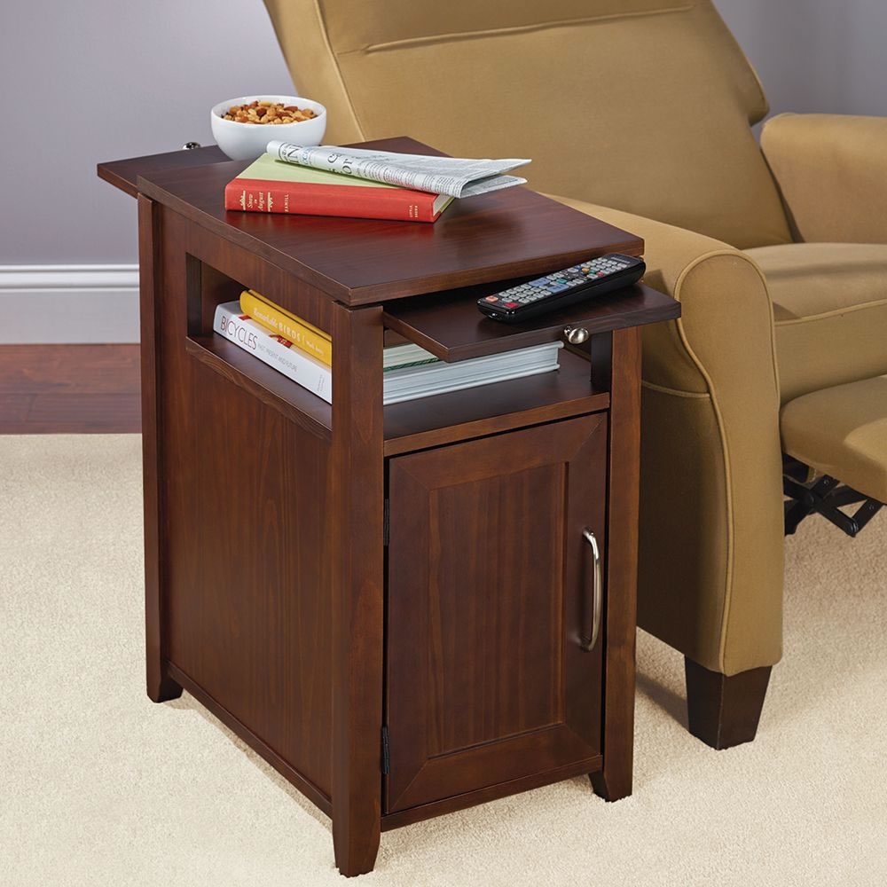 The Easy Access Recliner Side Table Closed