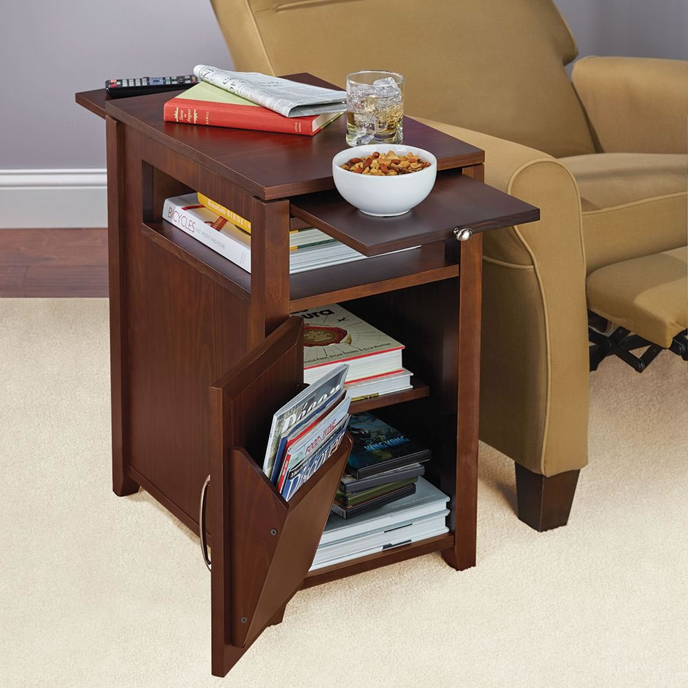 Easy Coffee Table.The Easy Access Recliner Side Table