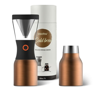 The Acid Free Portable Cold Coffee Brewer