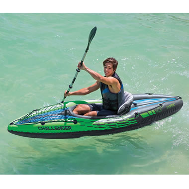 The Inflatable One Person Kayak