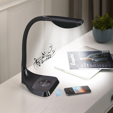 The Bluetooth Speaker LED Lamp