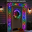 The Light Show Holiday Trim (Wreath)