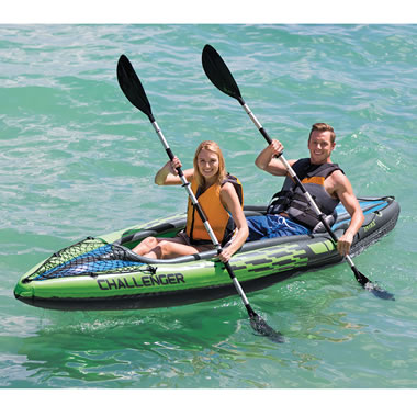 The Inflatable Two Person Kayak