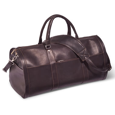 The Colombian Leather Garment Duffel
