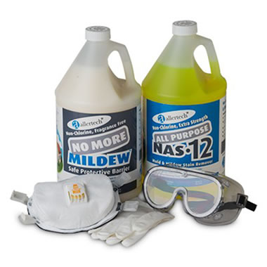 The Industrial Grade Mold And Mildew Remover Kit