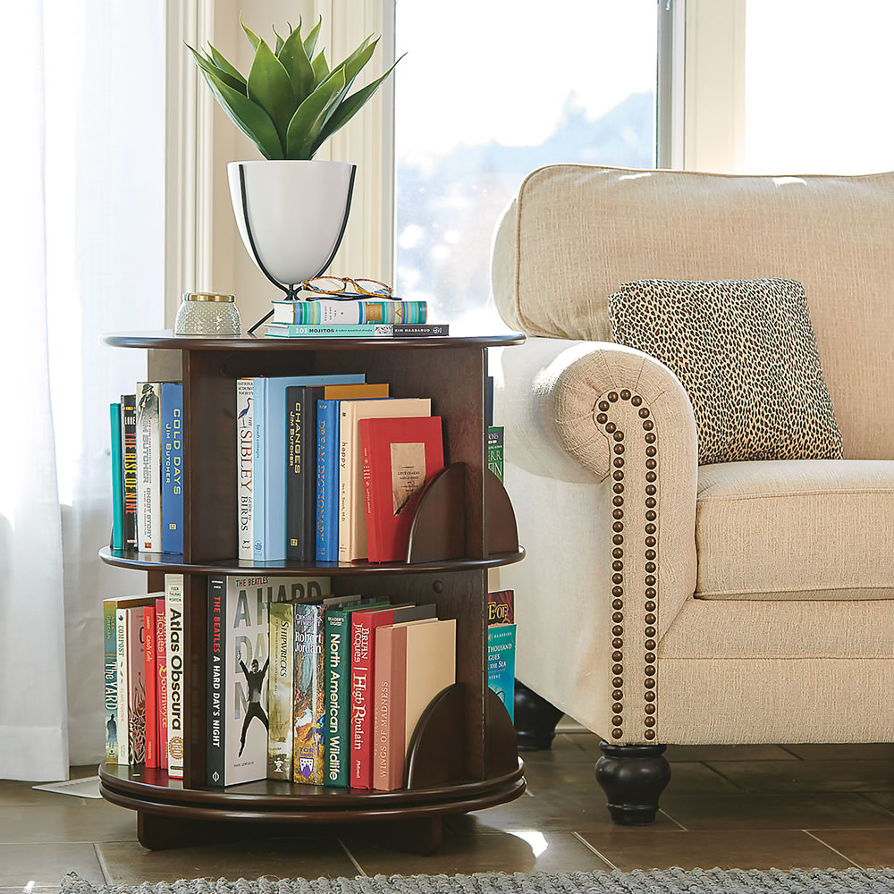 The Readeru0027s Rotating End Table Good Ideas