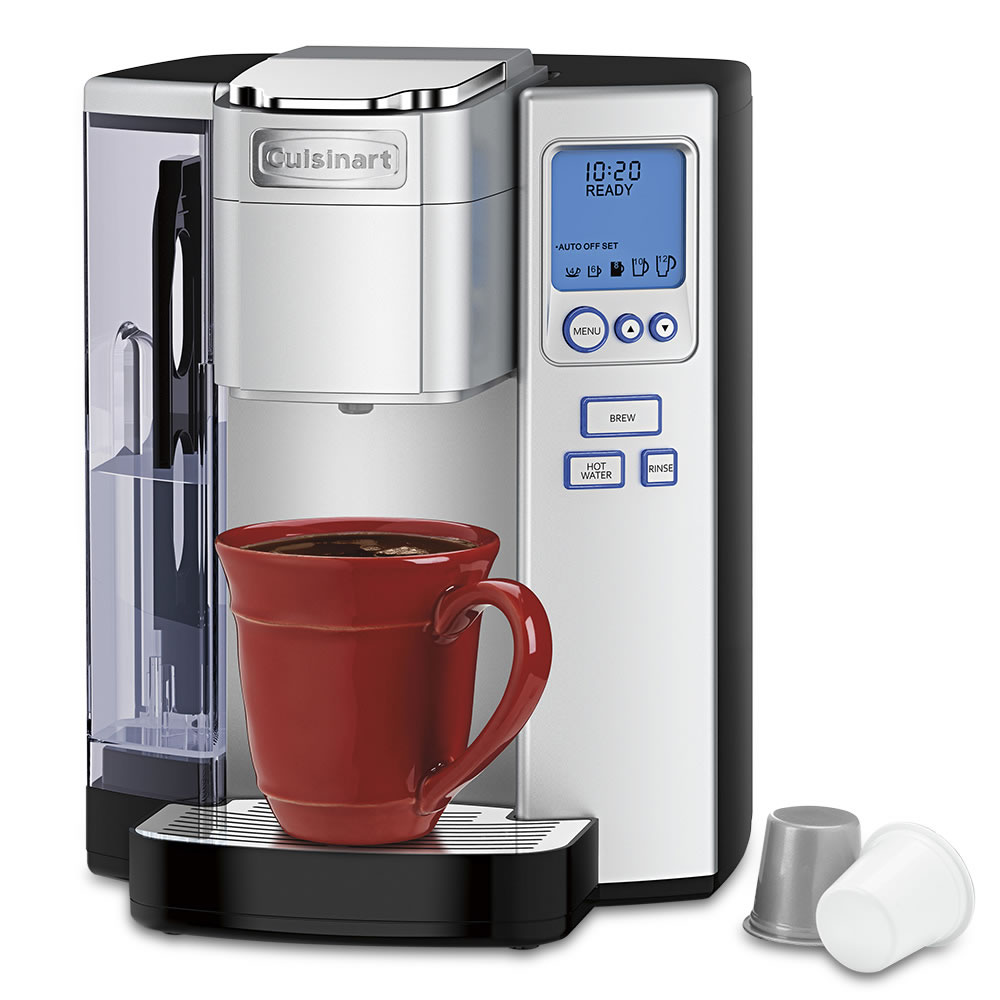 Personal Coffee Maker With Grinder : The K-Cup Or Personal Grind Espresso/Coffee Maker - Hammacher Schlemmer