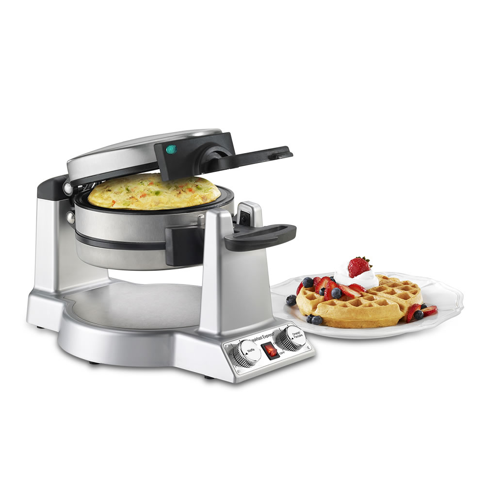 the omelet and waffle maker