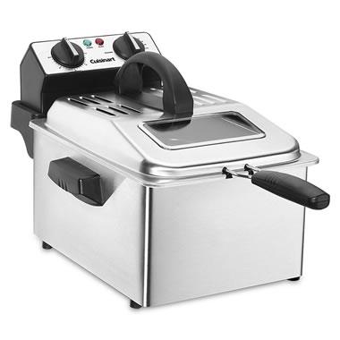 The Rapid Heat Up Deep Fryer