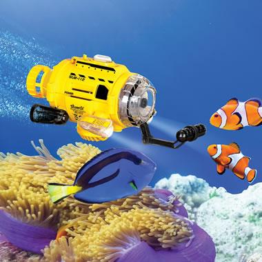 The Fish Feeding Submarine