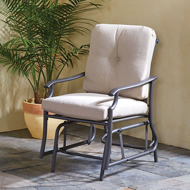 The All Weather Arm Chair Glider
