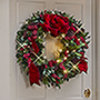The Cordless Prelit Holly/Berries/Ribbon Holiday Trim