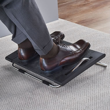 The Back Pain Relieving Footrest