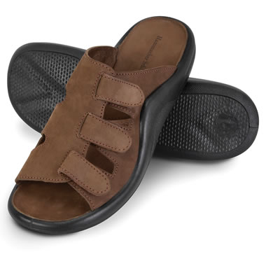 The Gentleman's Walk On Air Adjustable Sandals