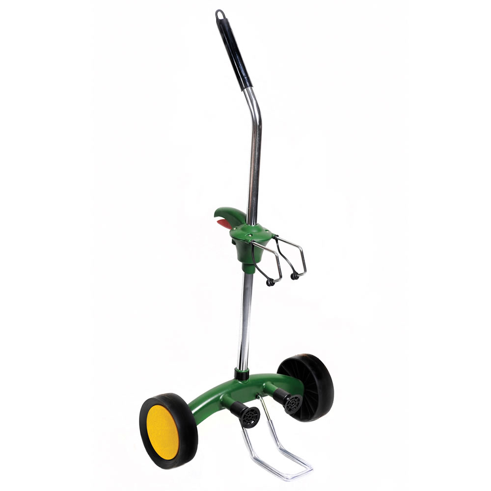 The Heavy Duty Potted Plant Hand Truck - Hammacher Schlemmer