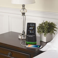 The Bluetooth Alarm Clock/Weather Station