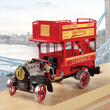 The London Bus Mamod Steam Engine