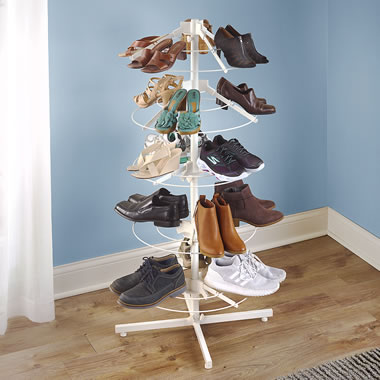 The Space Saving Shoe Carousel