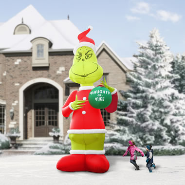 The Two Story Inflatable Grinch