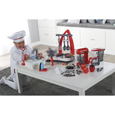 The Young Chef's Complete Working Kitchen