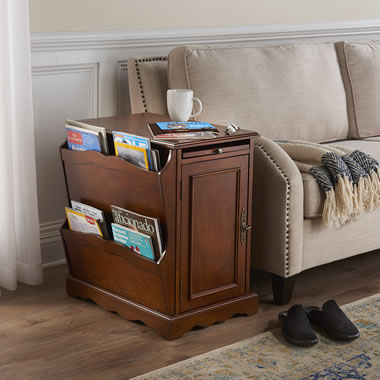 The Magazine Reader's End Table
