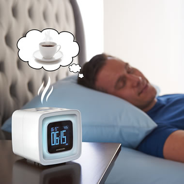 The Smell The Coffee Clock